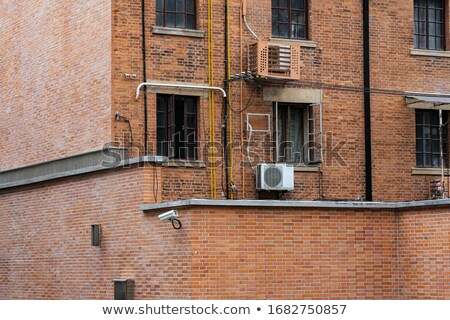 Closeup of a typical traditional Chinese building Stock photo © bbbar