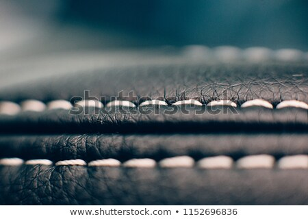 黒 水平な 革 便利 テクスチャ 芸術的 ストックフォト © Arsgera