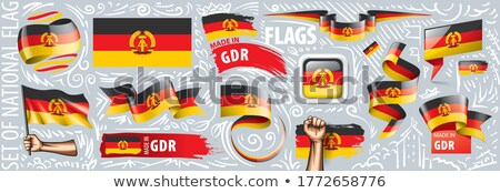 Made in DDR Stock photo © Stocksnapper