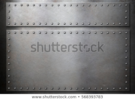 old armour over gray wall Stock photo © taviphoto