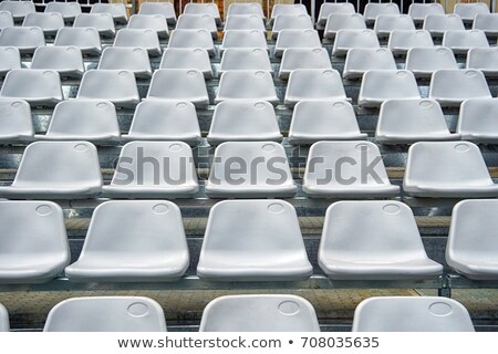 Stadion patroon lege plastic Open deur sport Stockfoto © stevanovicigor