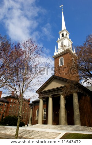 harvard memorial church stock photo © prill