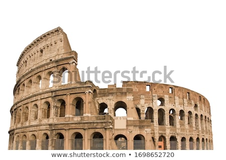 Pormenor Roma Itália edifício teatro estádio Foto stock © photosil