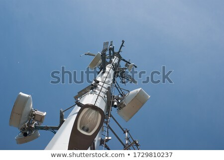 cell phone tower bottoms up stock photo © mikecharles