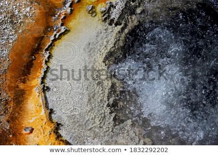 さびた 間欠泉 カラフル 水 旅行 ホット ストックフォト © saddako2