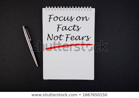 Truth In Focus Stock photo © 3mc