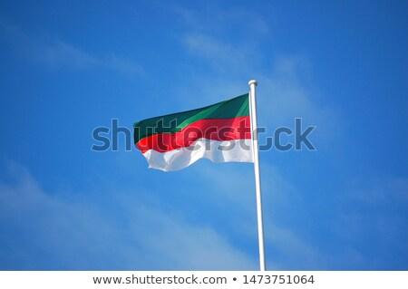 Zászló Németország magas döntés tenger ruha Stock fotó © joggi2002