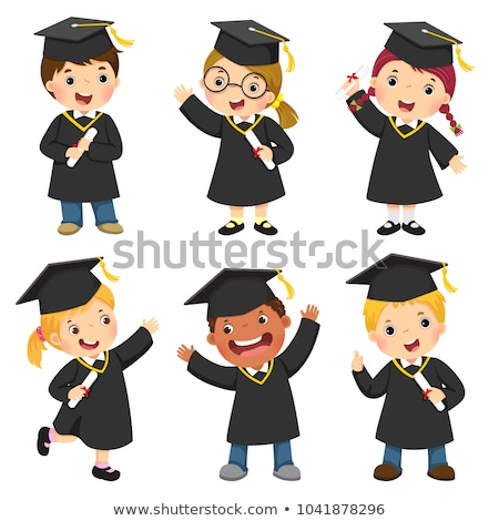 Stock photo: Child graduation.