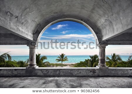 Old Beach Mansion Stock photo © ArenaCreative