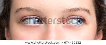 portrait of a pretty girl close up eye stock photo © ra2studio