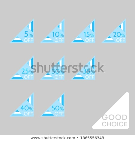set of vector tags collection of universal labels stock photo © aleksa_d