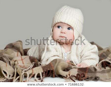 Knit Hats on a Blanket Stock photo © rhamm