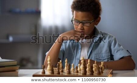 African chessboard Stock photo © Koufax73