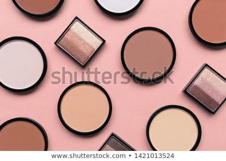 makyaj · renkli · paletine · göz · model - stok fotoğraf © vlad_star