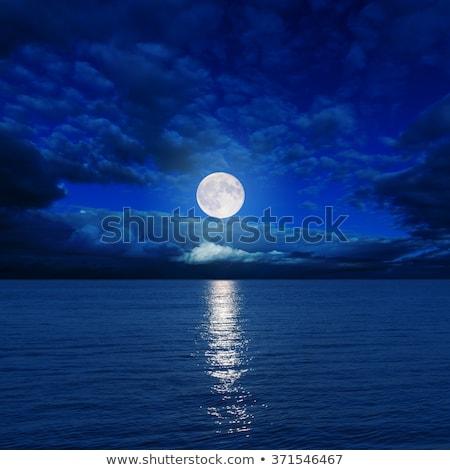 moonlight over water Stock photo © mycola