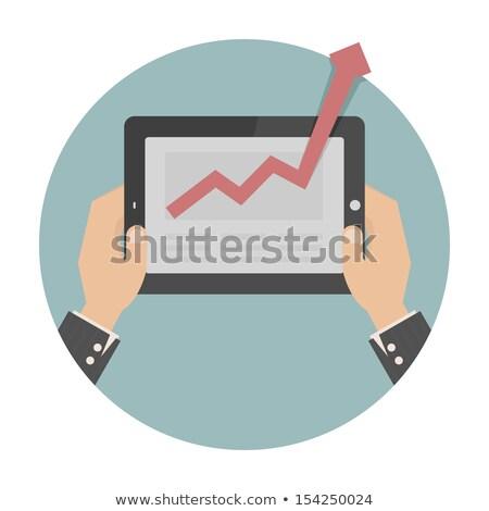 sociale · pagina · laptop · tablet · cellulare - foto d'archivio © ratch0013
