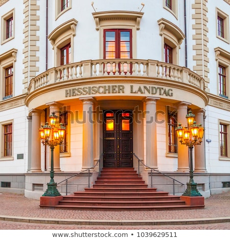 house of politics, the Hessischer Landtag in Wiesbaden  Stock photo © meinzahn