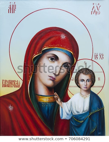 Stock photo: Jesus and Mary Italy