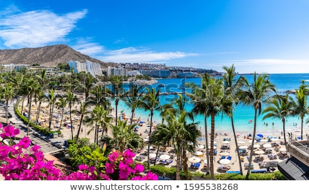Stock photo: Landscape In Gran Canaria Spain