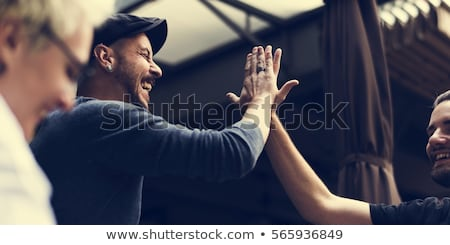 High five Stock photo © michaklootwijk