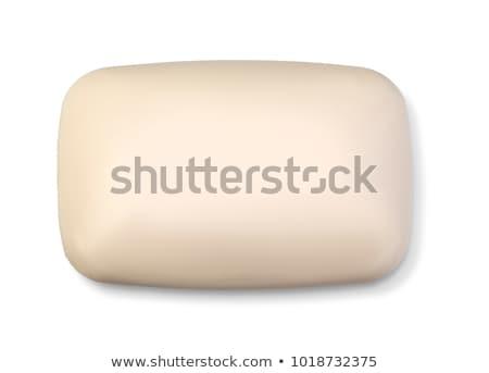 Natuurlijke zeep bar geïsoleerd witte steeg Stockfoto © natika