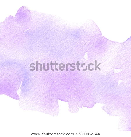 Watercolor Lilac Blot Stock photo © barbaliss