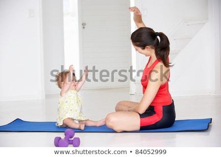ребенка семь месяцев старые играет Сток-фото © filipw