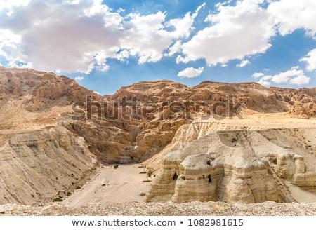 Qumran caves in Qumran National Park  Stock photo © meinzahn