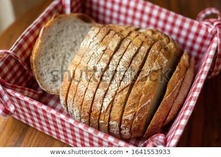 Chleba pojemnik wektora pszenicy biały Zdjęcia stock © kovacevic
