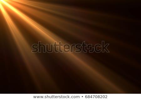 日光 オレンジ ピンク グレー 雲 ストックフォト © silkenphotography