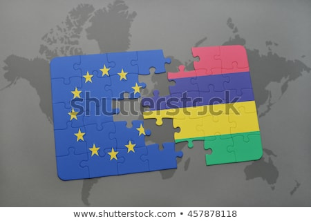 European Union and Mauritius Flags in puzzle Stock photo © Istanbul2009