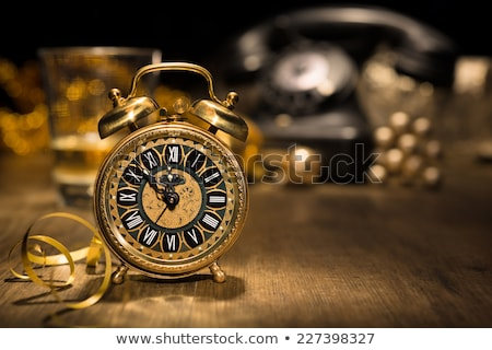 Composite image of 2015 in black alarm clock Stock photo © wavebreak_media