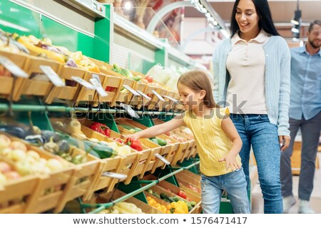 family with child in shop Stock photo © Paha_L