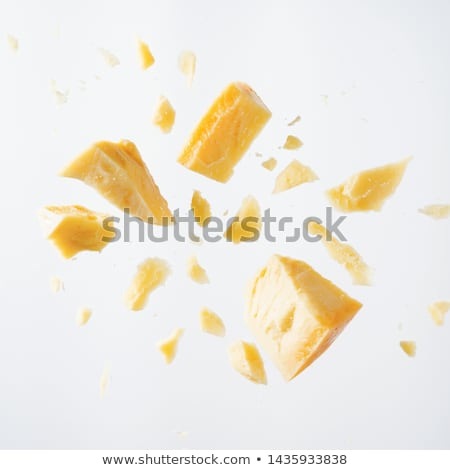 parmesan cheese slices stock photo © zhekos
