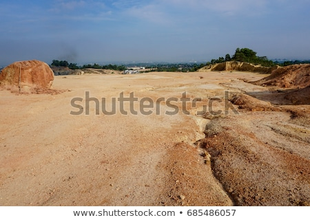 Stock photo: Big advantures in desert