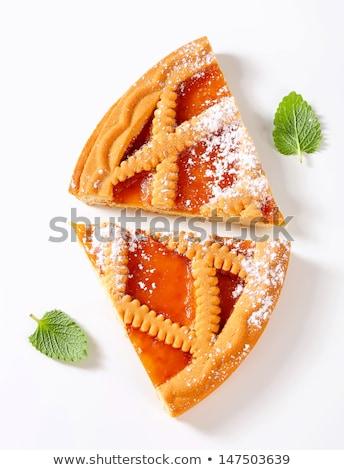 アプリコット スライス 食品 ケーキ オレンジ ストックフォト © Digifoodstock