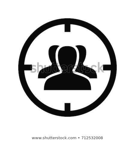 Icono diseno negocios aislado ilustración aplicación Foto stock © WaD