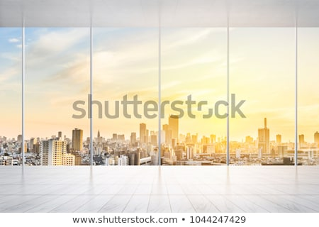 A window with a view of the bird Stock photo © bluering