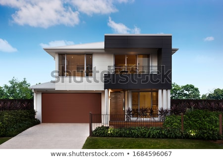 Architecture design for two storey house Stock photo © bluering