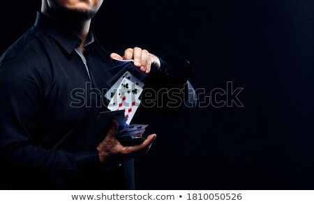 Illusionist. Stock photo © Fisher