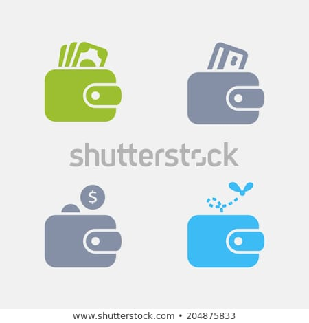 Wallets - Granite Icons stock photo © micromaniac