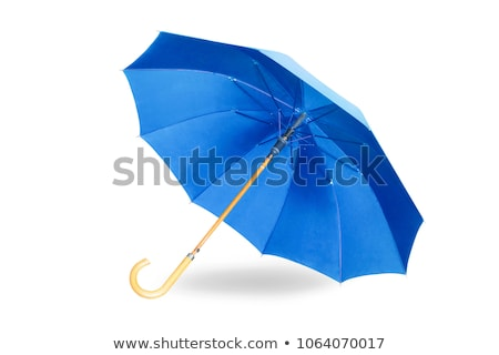 傘 紺碧 雨 黒 雨の ストックフォト © romvo