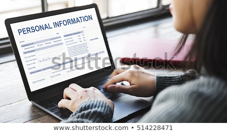 Searching Private Information Stock photo © Lightsource