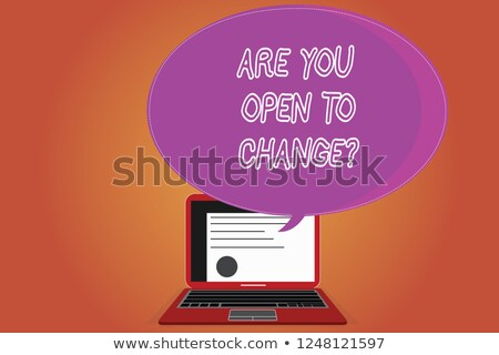 Change Your Mindset - Concept on Laptop Screen. Stock photo © tashatuvango