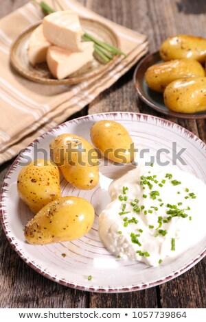bibeleskaes, german cuisine Stock photo © M-studio