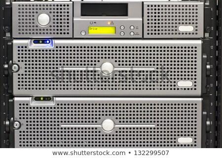 lif · ağ · Sunucu · optik · kablolar · veri · merkezi - stok fotoğraf © wavebreak_media