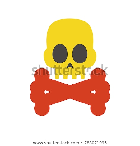 Danger sign with skull. Stock photo © biv
