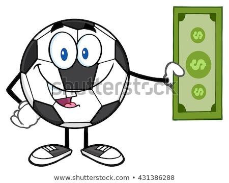 vektör · dolar · top · küre · bir · yüz - stok fotoğraf © hittoon