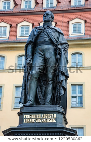 Memorial for Frederick Augustus II of Saxony Stock photo © manfredxy