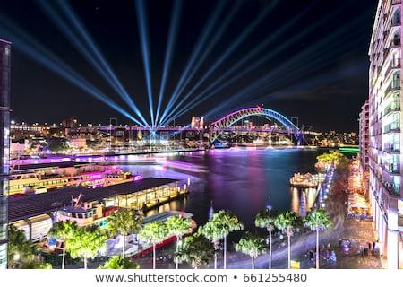 Sydney · porto · balsa · icônico · ponte - foto stock © lovleah